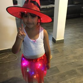 LED Glow Light Witch Costume photo review