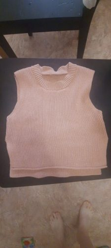 Kids Knitted Vest photo review