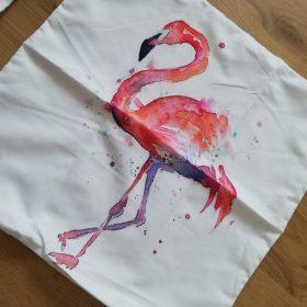 Pink Flamingo Print Pillowcase photo review